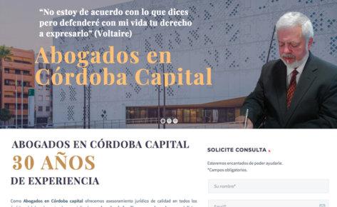 Web Bufete Abogado Calderón