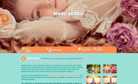 Web Maru Serra América comuniones