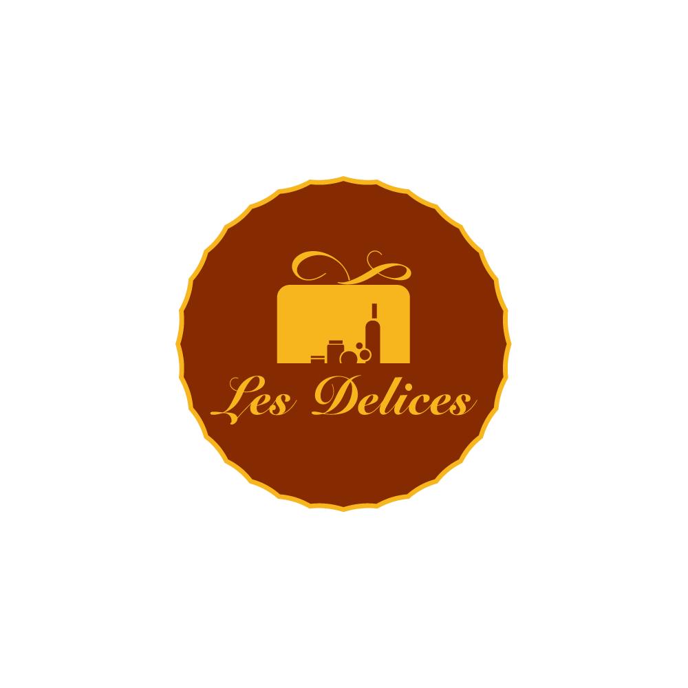 Diseño de logotipo para la tienda de delicatesen Les Delices en Córdoba