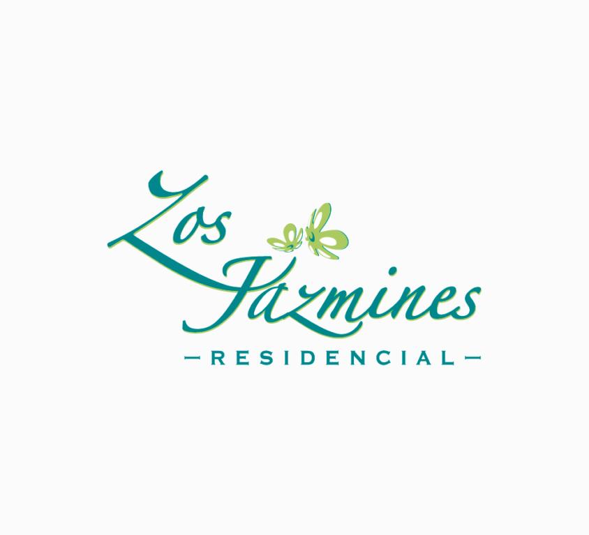 Logotipo Residencial Los Jazmines