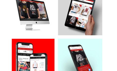 Diseño de tienda online La Viuda Negra