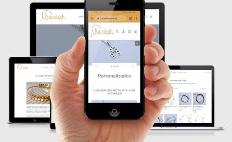 Diseño de tienda online Barakah