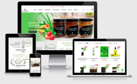 Tienda online de Aloe Vera Las Coronas